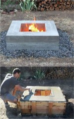 Superb Diy Fire Pit Ideas To Try In The Backyard21