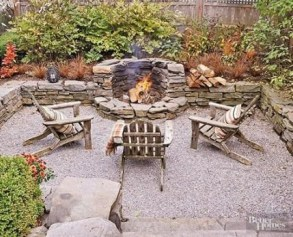 Superb Diy Fire Pit Ideas To Try In The Backyard23