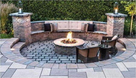 Superb Diy Fire Pit Ideas To Try In The Backyard34