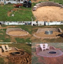 Superb Diy Fire Pit Ideas To Try In The Backyard38