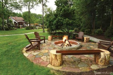 Superb Diy Fire Pit Ideas To Try In The Backyard40