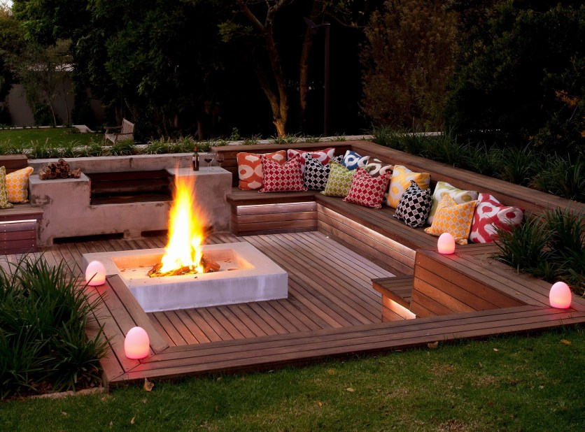 Superb Diy Fire Pit Ideas To Try In The Backyard44