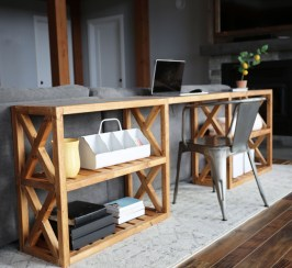 Unusual Diy Console Table Design Ideas To Try This Year03