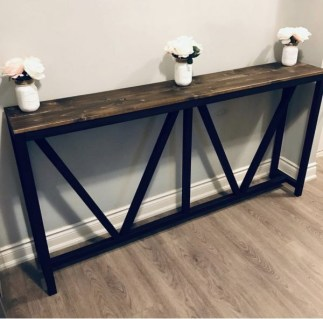 Unusual Diy Console Table Design Ideas To Try This Year06