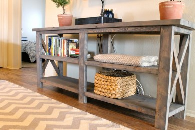 Unusual Diy Console Table Design Ideas To Try This Year11