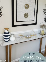 Unusual Diy Console Table Design Ideas To Try This Year12