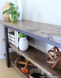 Unusual Diy Console Table Design Ideas To Try This Year17