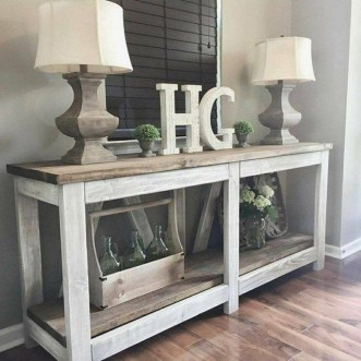 Unusual Diy Console Table Design Ideas To Try This Year18