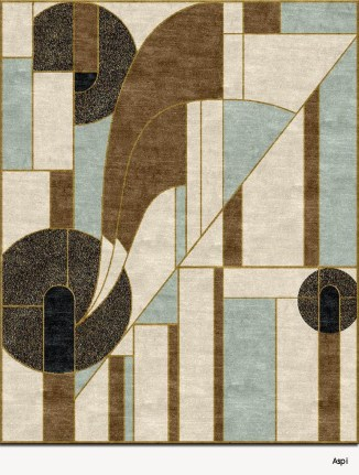 Unusual Painted Rug Design Ideas For Relaxing Screened Porch17