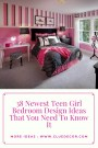 38 Newest Teen Girl Bedroom Design Ideas That You Need To Know It