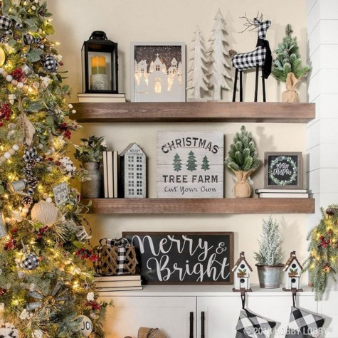 Adorable Christmas Home Design Ideas To Fun Up Your Home20