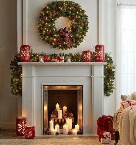 Adorable Christmas Home Design Ideas To Fun Up Your Home21