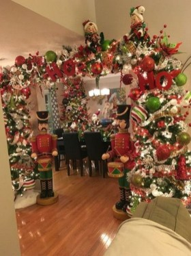 Adorable Christmas Home Design Ideas To Fun Up Your Home25