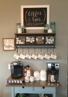 Best Home Coffee Bar Design Ideas You Must Have In Your House04