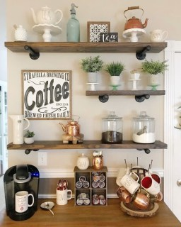 Best Home Coffee Bar Design Ideas You Must Have In Your House05