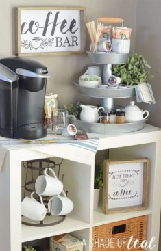 Best Home Coffee Bar Design Ideas You Must Have In Your House09