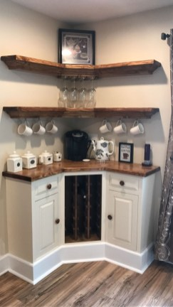 Best Home Coffee Bar Design Ideas You Must Have In Your House27