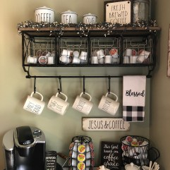 Newest Rae Dunn Display Design Ideas To Make Beautiful Decor In Your Home13
