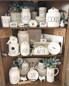 Newest Rae Dunn Display Design Ideas To Make Beautiful Decor In Your Home31