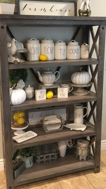 Newest Rae Dunn Display Design Ideas To Make Beautiful Decor In Your Home34