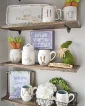Newest Rae Dunn Display Design Ideas To Make Beautiful Decor In Your Home37