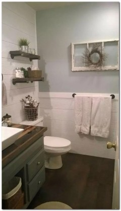Trendy Farmhouse Bathroom Design Ideas To Try Right Now09