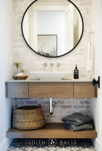Trendy Farmhouse Bathroom Design Ideas To Try Right Now28