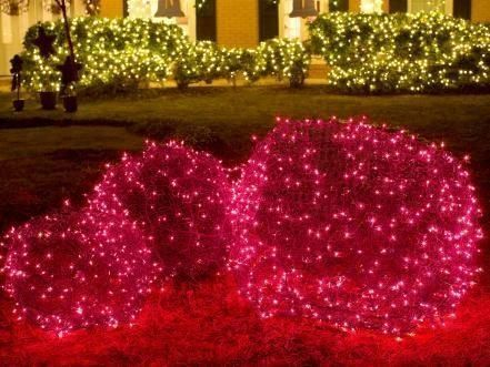 Unusual Diy Christmas Light Balls Ideas For Outdoor Decoration07
