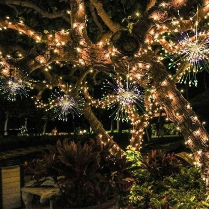 Unusual Diy Christmas Light Balls Ideas For Outdoor Decoration28