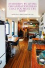 37 Modern Rv Living Organization Ideas That You Must Try Now