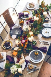 Amazing Thanksgiving Tablescapes Ideas For More Taste And Enjoyful28