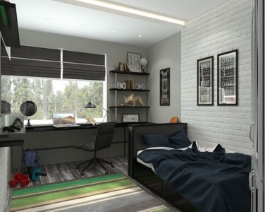 Attractive Study Room Designs And Decorative Ideas For Your Sons Little Surprise08
