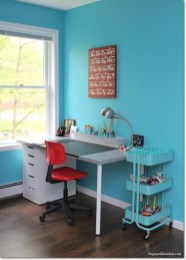 Attractive Study Room Designs And Decorative Ideas For Your Sons Little Surprise19