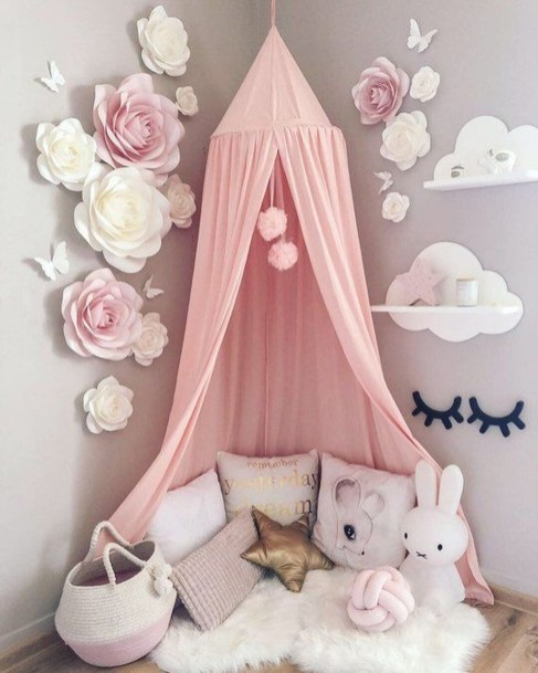 Awesome Kids Bedroom Wall Decorations Ideas That Will Make Fun Your Kids Room03