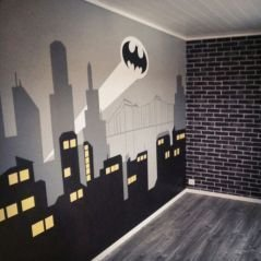 Awesome Kids Bedroom Wall Decorations Ideas That Will Make Fun Your Kids Room05