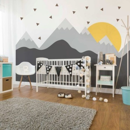 Awesome Kids Bedroom Wall Decorations Ideas That Will Make Fun Your Kids Room12