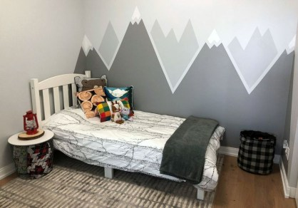 Awesome Kids Bedroom Wall Decorations Ideas That Will Make Fun Your Kids Room15