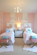 Awesome Kids Bedroom Wall Decorations Ideas That Will Make Fun Your Kids Room28