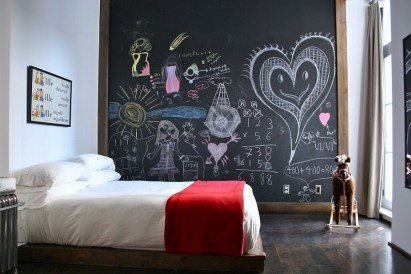 Awesome Kids Bedroom Wall Decorations Ideas That Will Make Fun Your Kids Room34