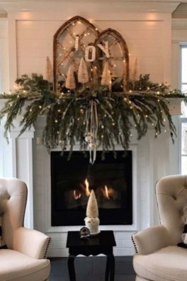 Awesome Winter Home Decoration Design Ideas With Unique Fireplace17