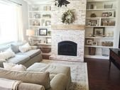 Awesome Winter Home Decoration Design Ideas With Unique Fireplace33