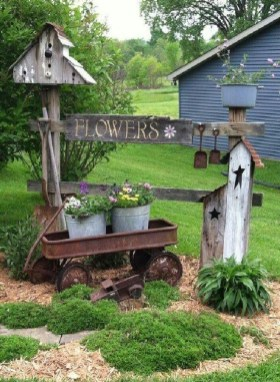 Fantastic Primitive Gardens Design Ideas That You Have To Try15