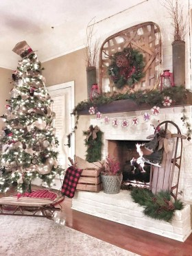 Hottest Farmhouse Christmas Decorations Ideas To Try Asap15