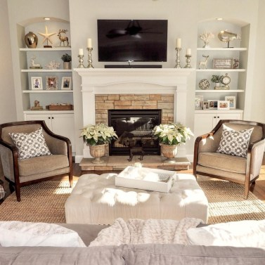 Impressive Family Room Designs Ideas That Looks So Cute11
