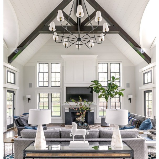 Impressive Family Room Designs Ideas That Looks So Cute34