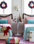 Latest Christmas Bedroom Decor Ideas For Kids To Try08