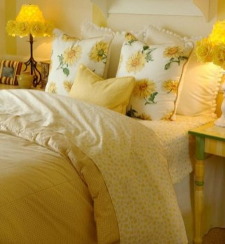 Latest Diy Sunflower Bedroom Decoration Ideas To Try Asap23