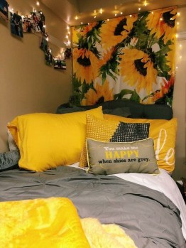 Latest Diy Sunflower Bedroom Decoration Ideas To Try Asap25