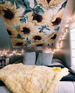 Latest Diy Sunflower Bedroom Decoration Ideas To Try Asap32