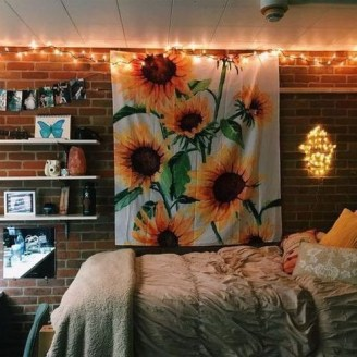 Latest Diy Sunflower Bedroom Decoration Ideas To Try Asap33
